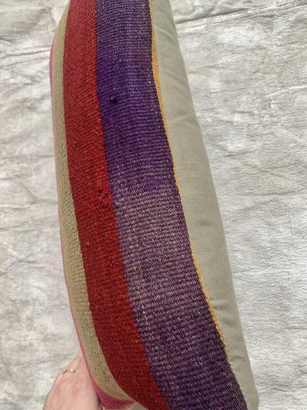 Cuttalossa & Co. Sunset Stripe Lumbar Pillow 10'' x 20''