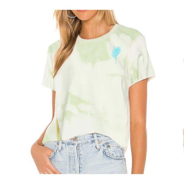 Farm Stand x Geige Silver Love is Love Tee Shirt - Green
