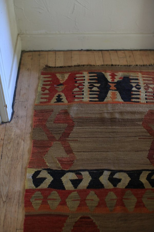 nomad collective Antique Primitive Kilim rug - multi