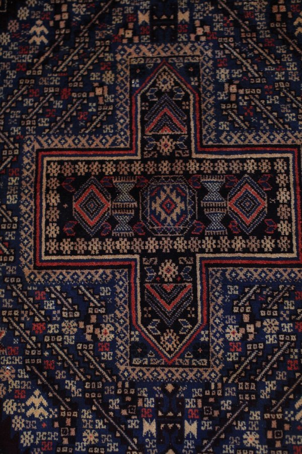nomad collective Antique Persian Cross Rug - multi
