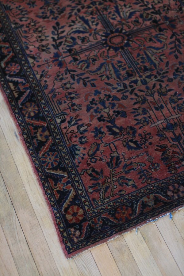 nomad collective Antique Sarouk Rug - multi