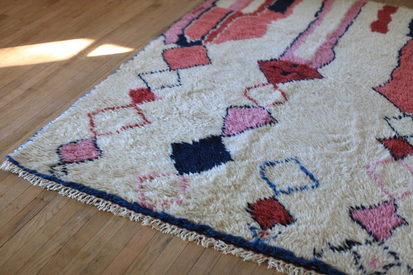 nomad collective Moroccan Azilal Rug - multi