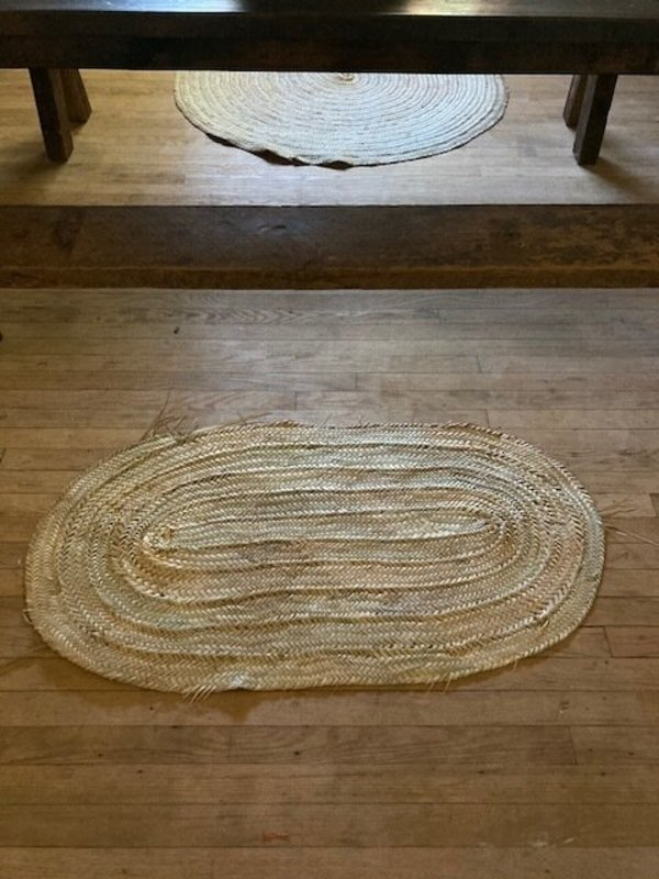 nomad collective Moroccan Woven Mat