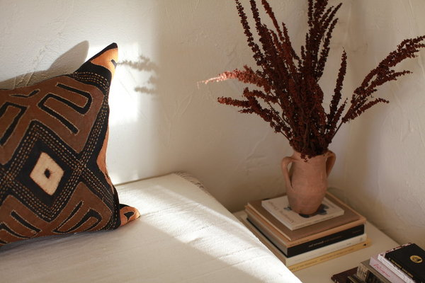 nomad collective Kuba Cloth Pillow - Multi