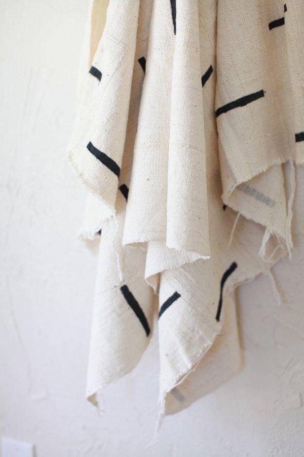 nomad collective Modern Mudcloth Textile - cream
