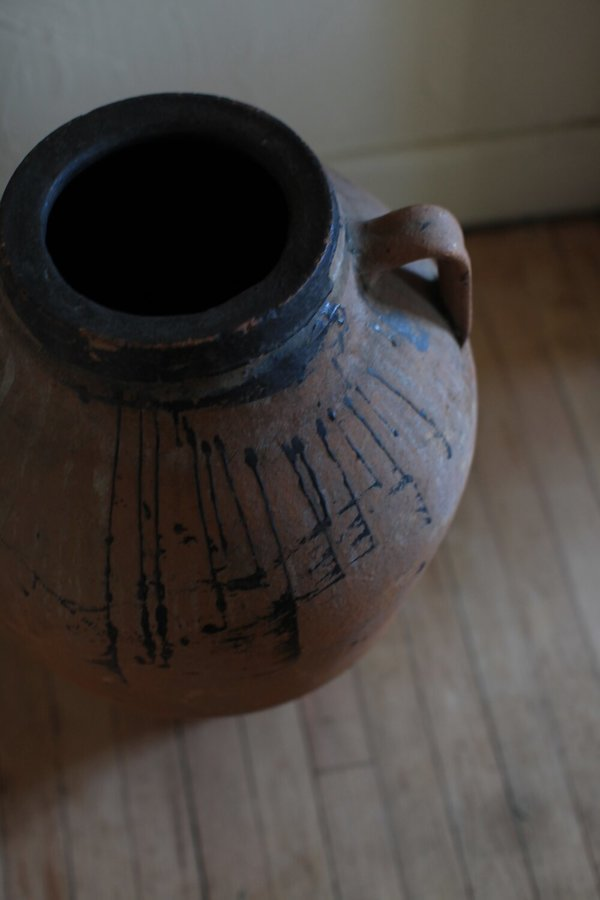 Vintage Turkish Oil Jar