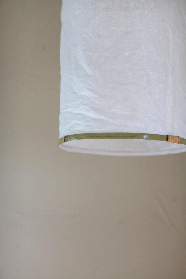 nomad collective Borneo Cloth Pendant Shade - white