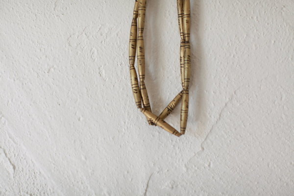 nomad collective African Brass Bead necklace - brass
