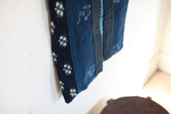 Vintage Japanese Kimono Vest - Indigo