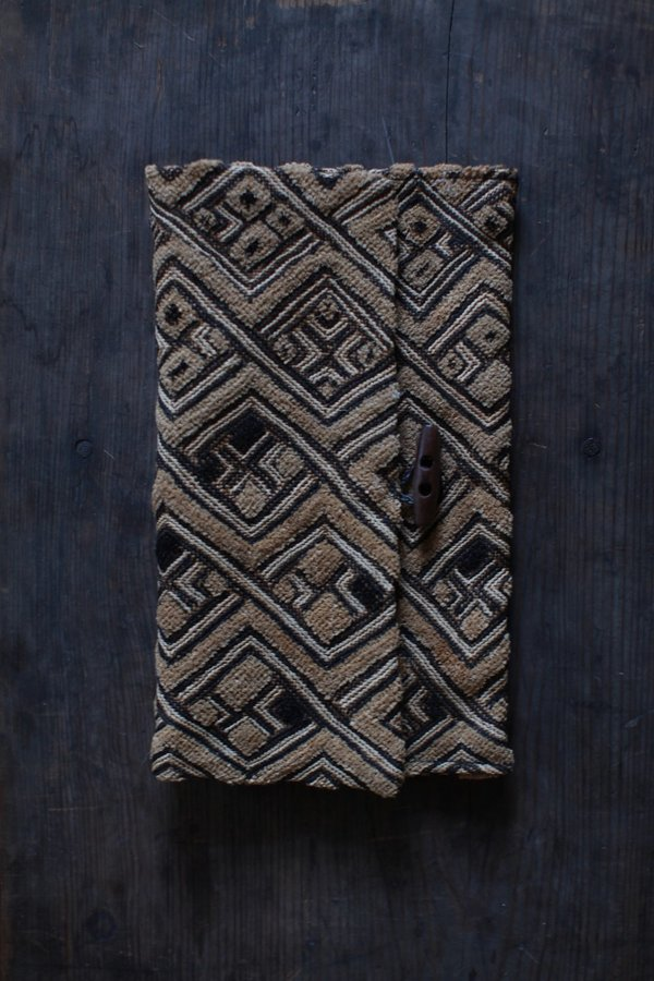 Nomad Collective x Holly Dawn Kuba Cloth Clutch