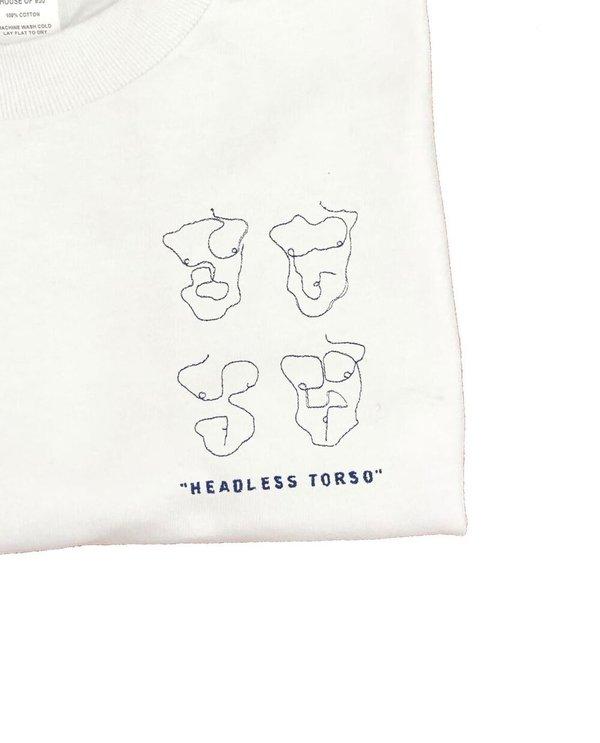 House of 950 headless torso embroidery tee shirt