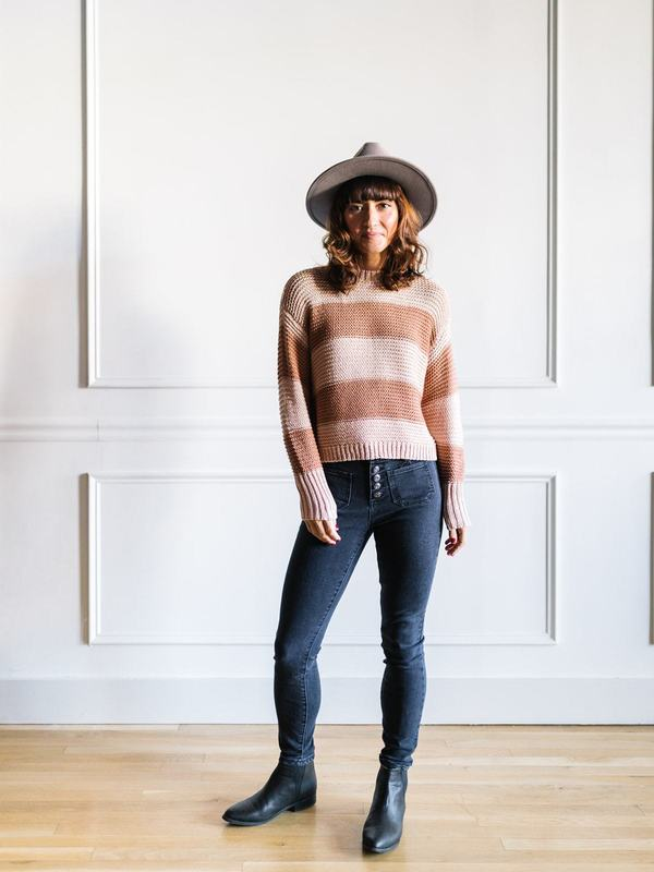 Saltwater Luxe Baylor Sweater - Blush