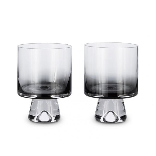 Tom Dixon Tank Low Ball Pair Glasses - Black
