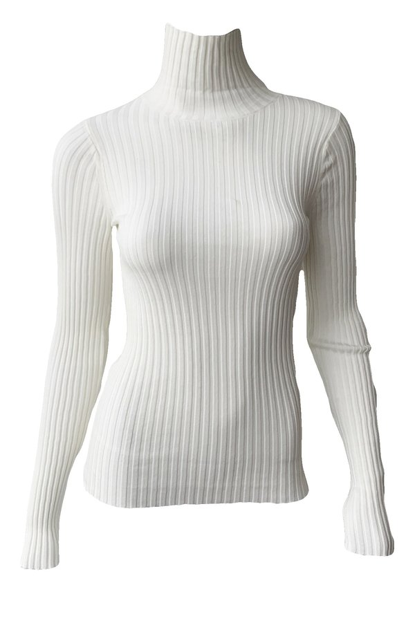 Anine Bing Clare Top - Ivory