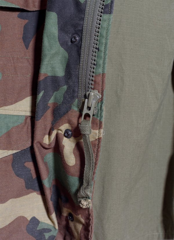 Vintage M-65 Field Jacket Type 4th from 1987 - Woodland Camo