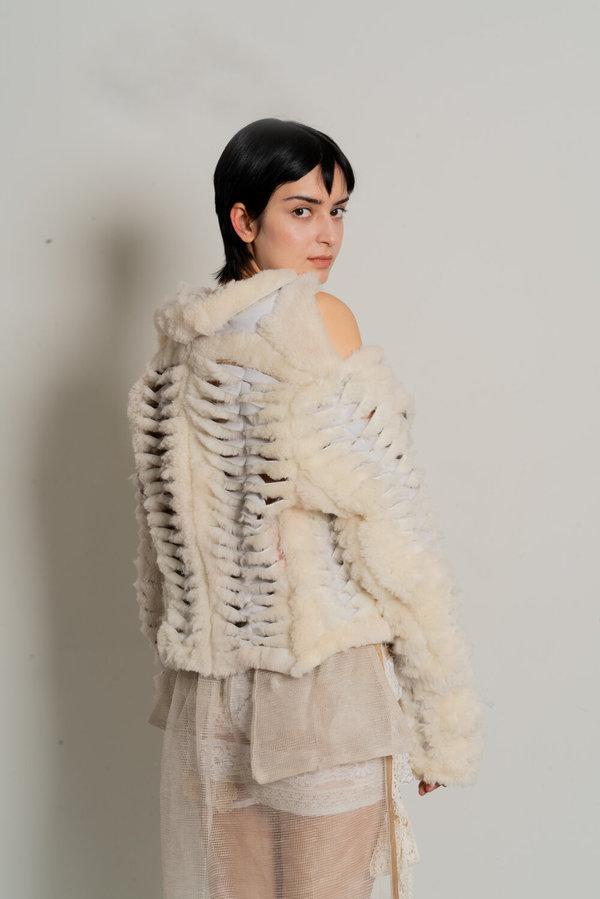 Sydney Pimbley Shearling Sew Jacket