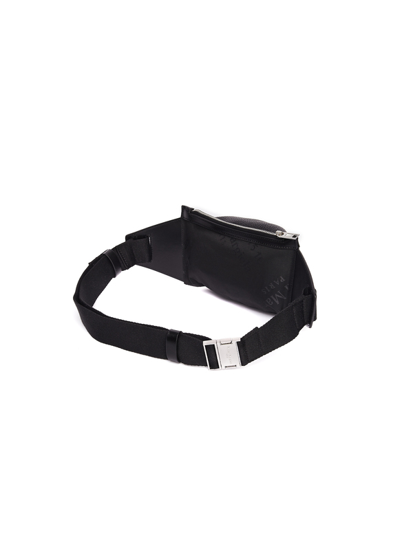 Maison Margiela Waist Leather Bag - Black