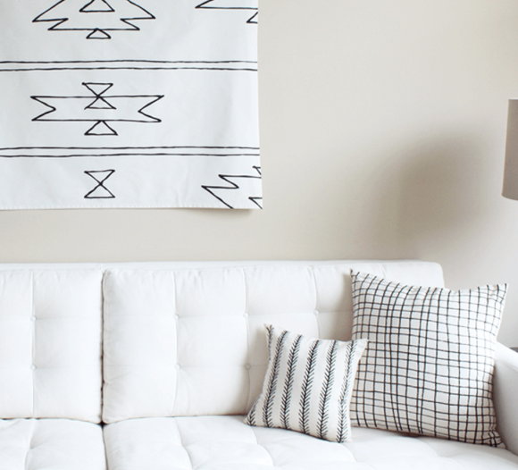 Sunday Supply Co. Feather Organic Cotton Pillow