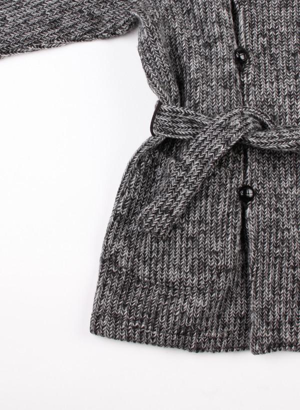 Engineered Garments Shawl Collar Knit Jacket Grey