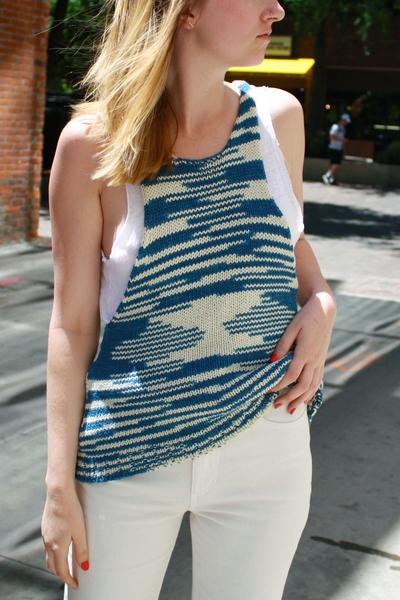 Lauren Manoogian Knit Space Tank