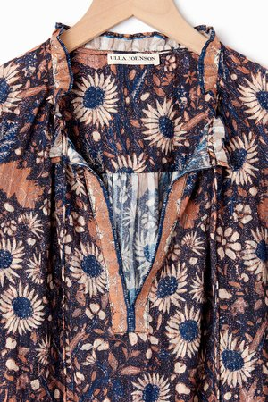 Ulla Johnson Manet Blouse - Sunflower