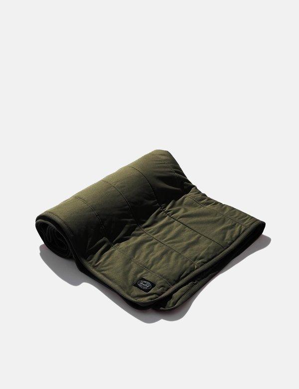 Snow Peak Flexible Insulated Blanket - Mossgreen