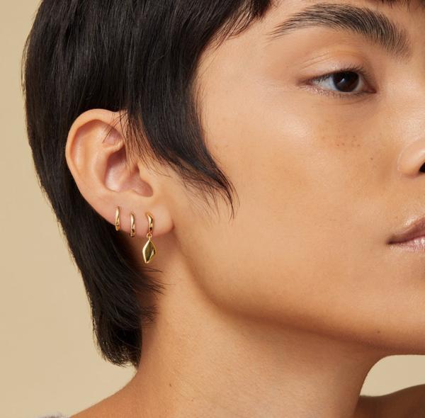 Jenny Bird Constance Drop Earrings - Gold