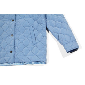 Nomia Quilted Chore Jacket - Periwinkle