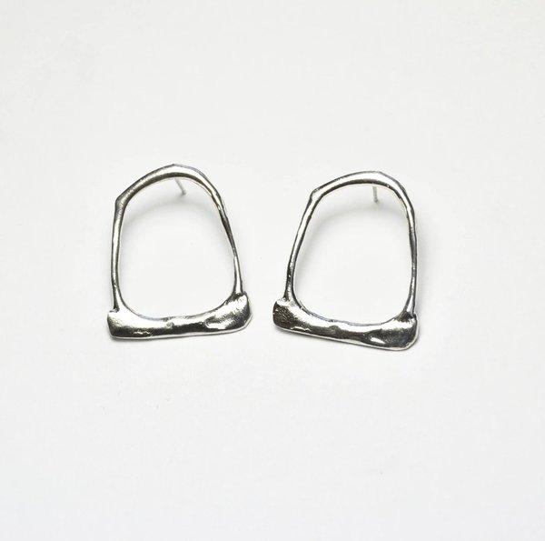 Monica Squitieri Big Basin Earrings - Sterling Silver