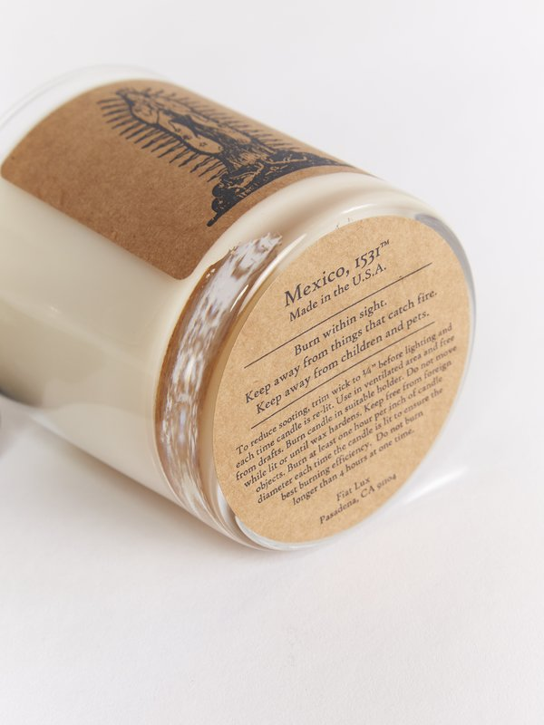 fiat lux Mexico 1531 Candle