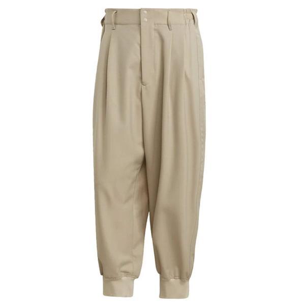 Y-3 Classic Refined Wool Stretch Cuffed Pants 'Sand'