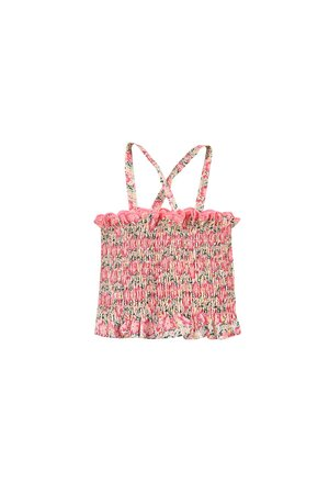 kids Louise Misha Malika Top - Pink Meadow