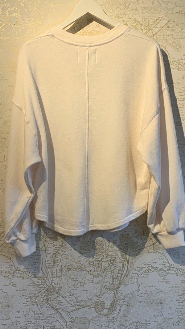 'Vivienne' V-Neck Sweatshirt