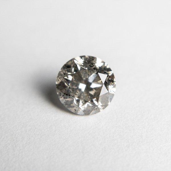 Salt and Pepper Brilliant Diamond - 1.22ct Round