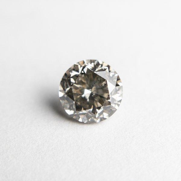 Salt and Pepper Brilliant Diamond - 1.37ct Round