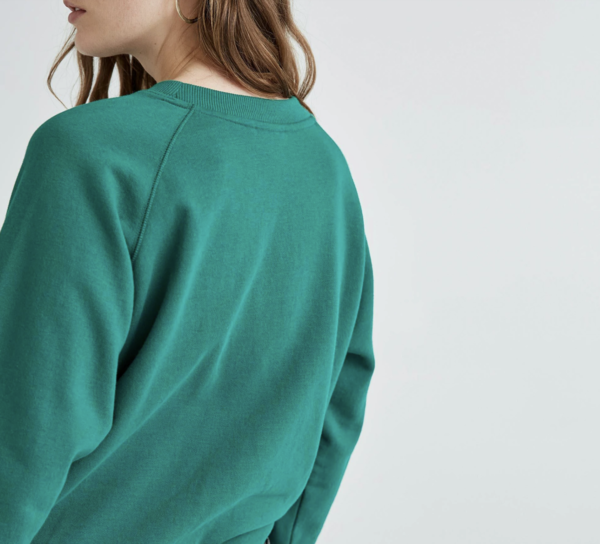 Richer Poorer Crew Sweatshirt - Evergreen