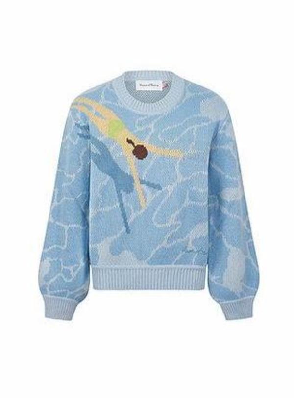 House of Sunny Big Splash Sweater