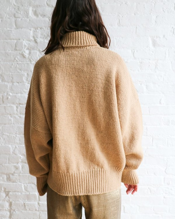 Babaa No17 Turtleneck Sweater, Size M