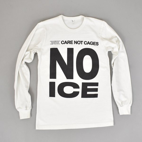 Pre-Loved NO ICE Long Sleeve - White