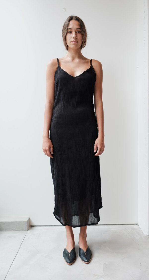 at Dawn. Crinkle Slip Dress