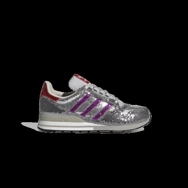 adidas ZX 500 FY4824 Sneakers - Glitter Grey/Purple