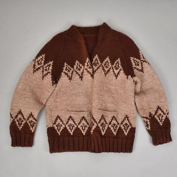 Vintage Cowichan Cardigan Jacket