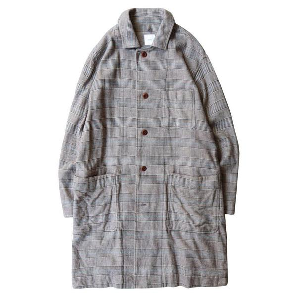 Color Glen Plaid Cashmere Touch Cotton Cloth