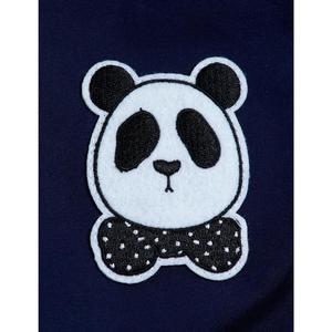 kids mini rodini panda jacket - navy