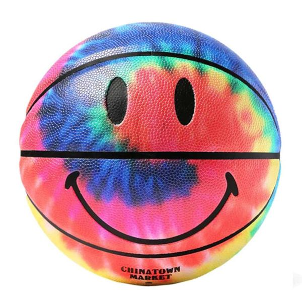 Smiley Tie Dye Basketball 'Tie Dye'