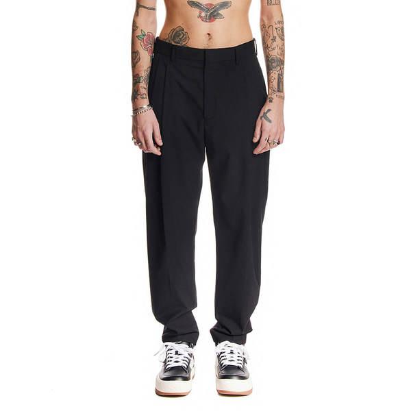 MSGM High waist pants - Black
