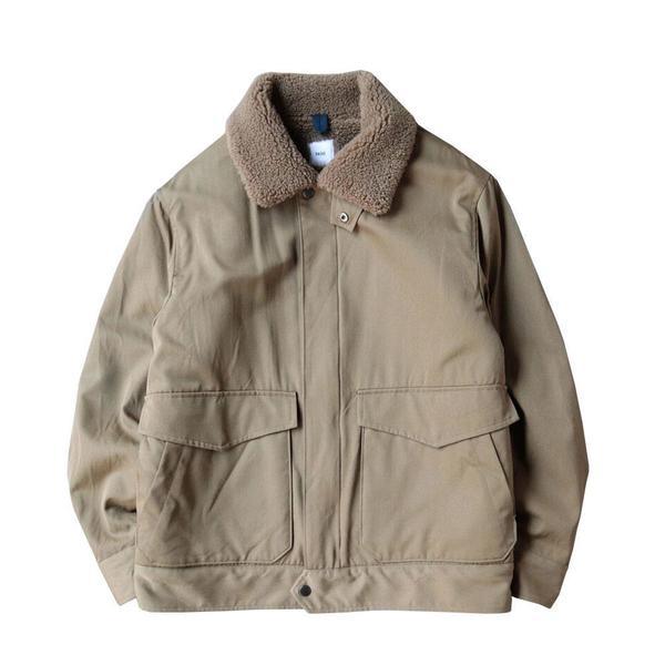 Zip Front Bomber Jacket