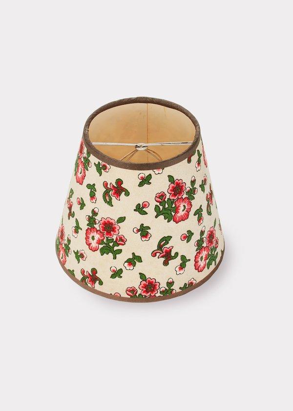Caramel Vintage Lampshade - Cream