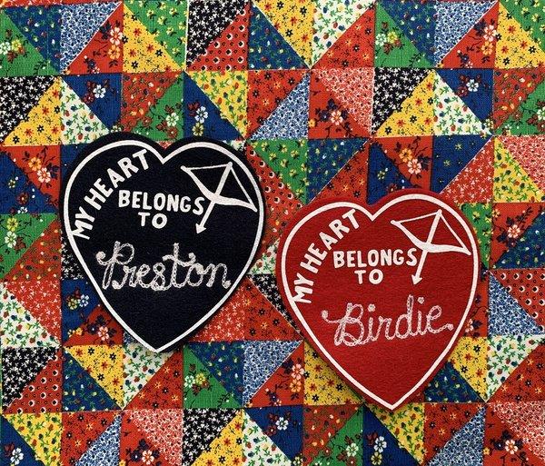 Carleen My Heart Belongs To Tee - Red Heart