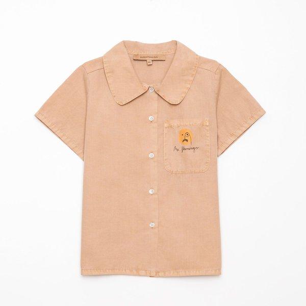kids Weekend House Kids Flamingo Shirt - Camel